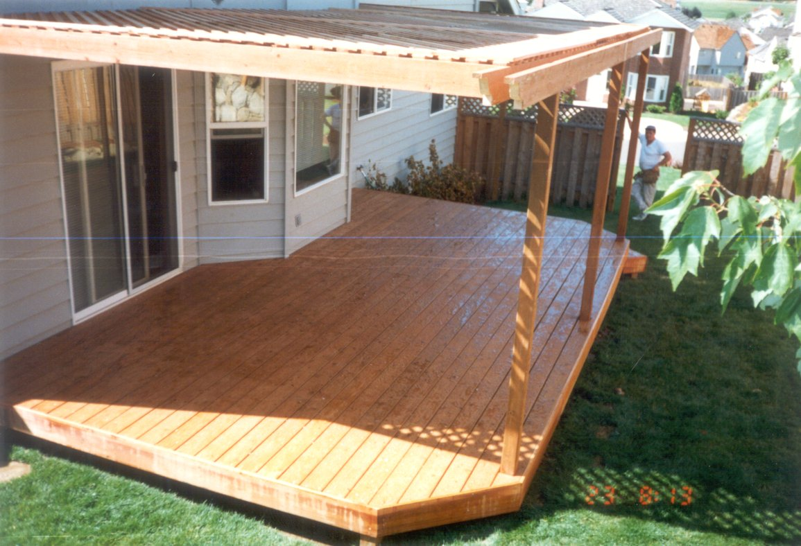 Decks Design Ideas deck design ideas woohome 1 This Low Level Deck Used Lastdeck Aluminum Boards And It Looks So Clean And Contemporary The Trim Pieces Attractively Surround The Deck