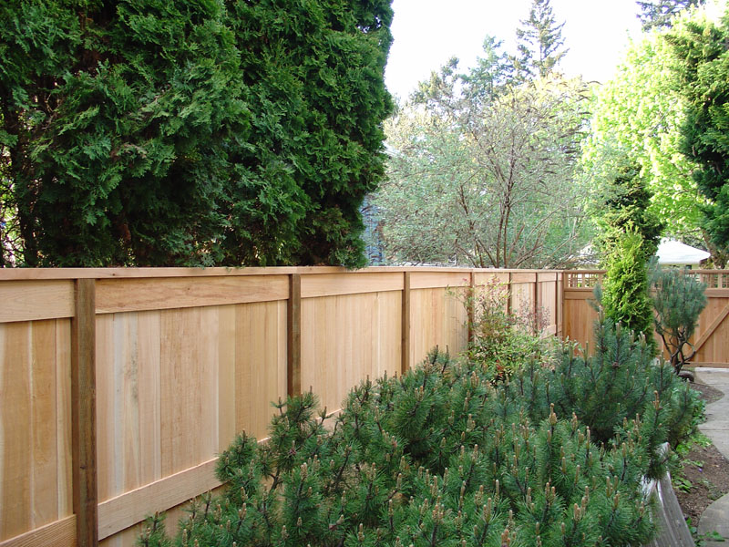 Picture page 2 free woodworking plans for Free privacy fence design plans